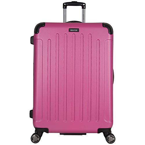 "Kenneth Cole Reaction Renegade 28"" Hardside Expandable 8-Wheel Spinner Checked Luggage, Pink"