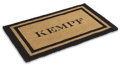 Personalized Natural coco mat 36'' X 72''
