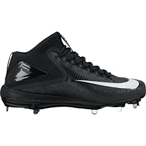 Nike Mens Force Zoom Trout 3 Mid Metal Baseball Cleats