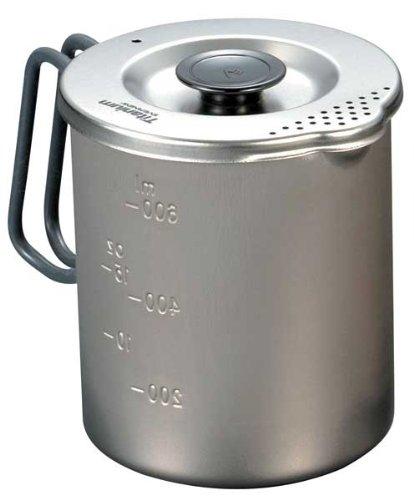 EVERNEW Titanium Pasta Pot, Small Evernew America 696969
