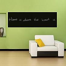 """Witkey 79"""" x 18"""" This Month PVC Reuseable Blackboard Sticker Wall Sticker Chalkboard School Office Wall Paper- 2 Free Liquid Chalk Pen"""