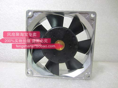 Original Sanyo 109L0812H419 8cm 8025 12V0.18A aluminum frame cooling fan.