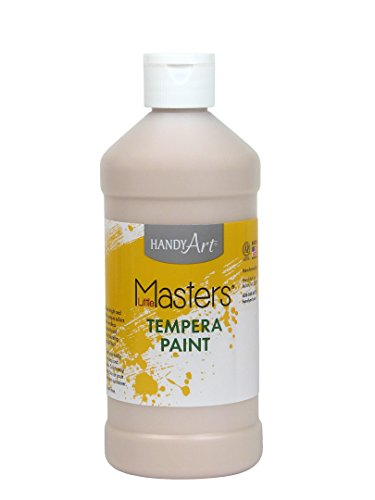 Handy Art Little Masters Tempera Paint 16 ounce, Peach