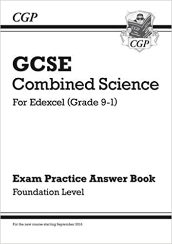 Book New GCSE Combined Science: Edexcel Answers (for Exam Practice Workbook) - Foundation