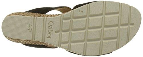 Donna Nero Pantofole Schwarz Grata Gabor Comfort Pq100