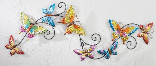 3D Butterfly Trail Wall Decor