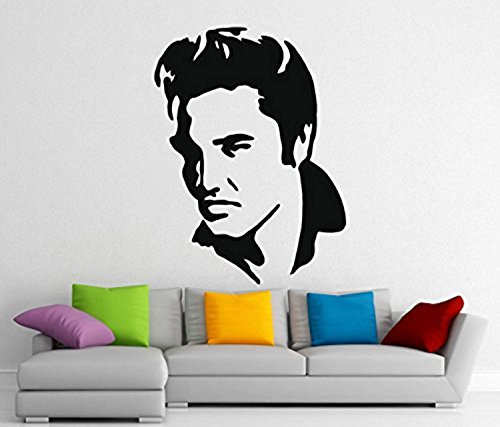 - Elvis Presley Stickers Music Wall Vinyl Decals Home Interior Murals Art Decoration G432