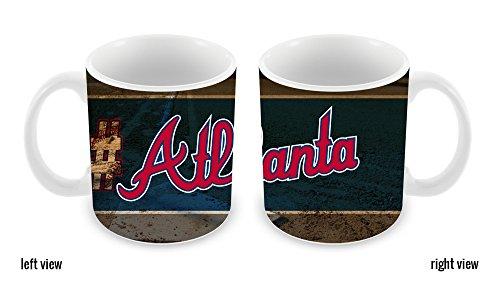BleuReign(TM) Hashtag Atlanta #Atlanta Baseball Team 11oz Ceramic Coffee Mug