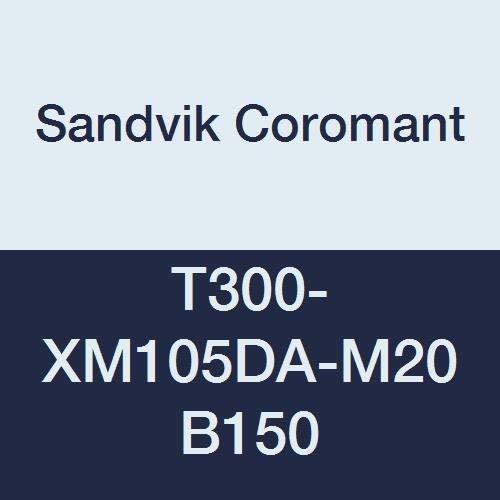 No Coolant Right Hand Cut Sandvik Coromant HSS CoroTap 300 cutting tap with spiral flutes T300-XM105DA-M20 B150