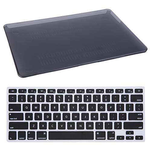 (Hot Durable Hard Rubberized Case + Keyboard Cover for MacBook Air 13