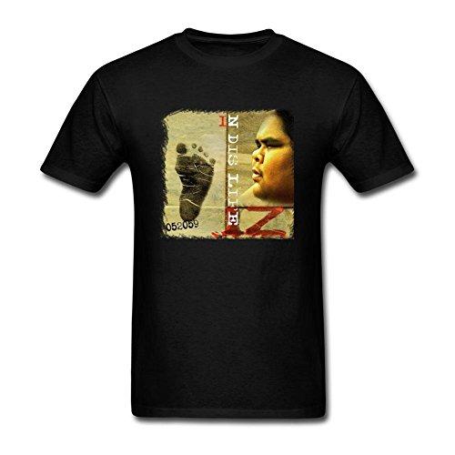 Ptshirt.com-19181-FUSHUOMT88M Men\'s IZ Israel Kamakawiwo\'ole N Dis Life T-shirt-B01ESXGIH8-T Shirt Design
