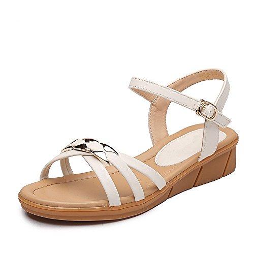 basse di Peep Alta BAJIAN scarpe toe Ladies heelsWomen sandali scarpe estivi Flip sandali Flop LI xzwqBFX