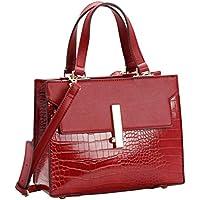 Bolsa Transversal Feminina Croco Chenson 3481828