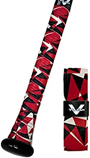 Vulcan 1.75mm Bat Grips/Red Flash