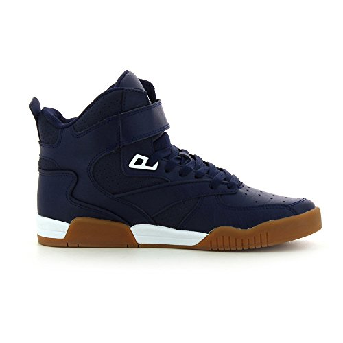 SupraBLEEKER - Sneaker Alta Unisex – Adulto Blu