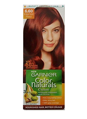 Garnier Color Naturals Regular Pack, Intense Red,70ml+40g