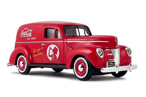 1940 Ford Sedan Delivery Van, Coca-Cola - Motorcity Classics 424194 - 1/24 Scale Diecast Model Toy Car