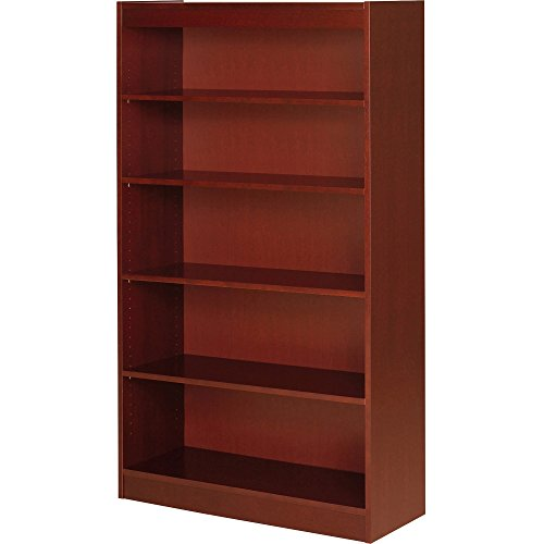 Lorell 89053 5 Shelf Panel Bookcase, 36