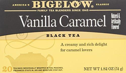 Caramel Vanilla Tea - Bigelow Tea Vanilla Caramel 20 Bags (Pack of 4)