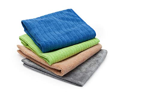Quickie Household Surface Microfiber Cleaning Cloths - Variety Pack (477PDQ) from Quickie