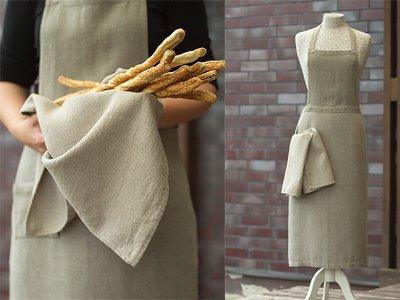 LinenMe Lara Tea Towel, Natural