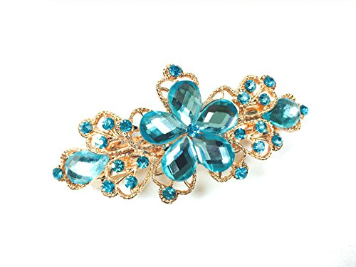 Oliasports Crystals Butterfly Headdress Rhinestones