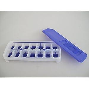 Tupperware, contenitore da congelatore per creare cubetti di ghiaccio, viola e bianco, G29 31087 1 spesavip