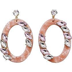 Women's Luxury Rhinestone Crystal Earrings