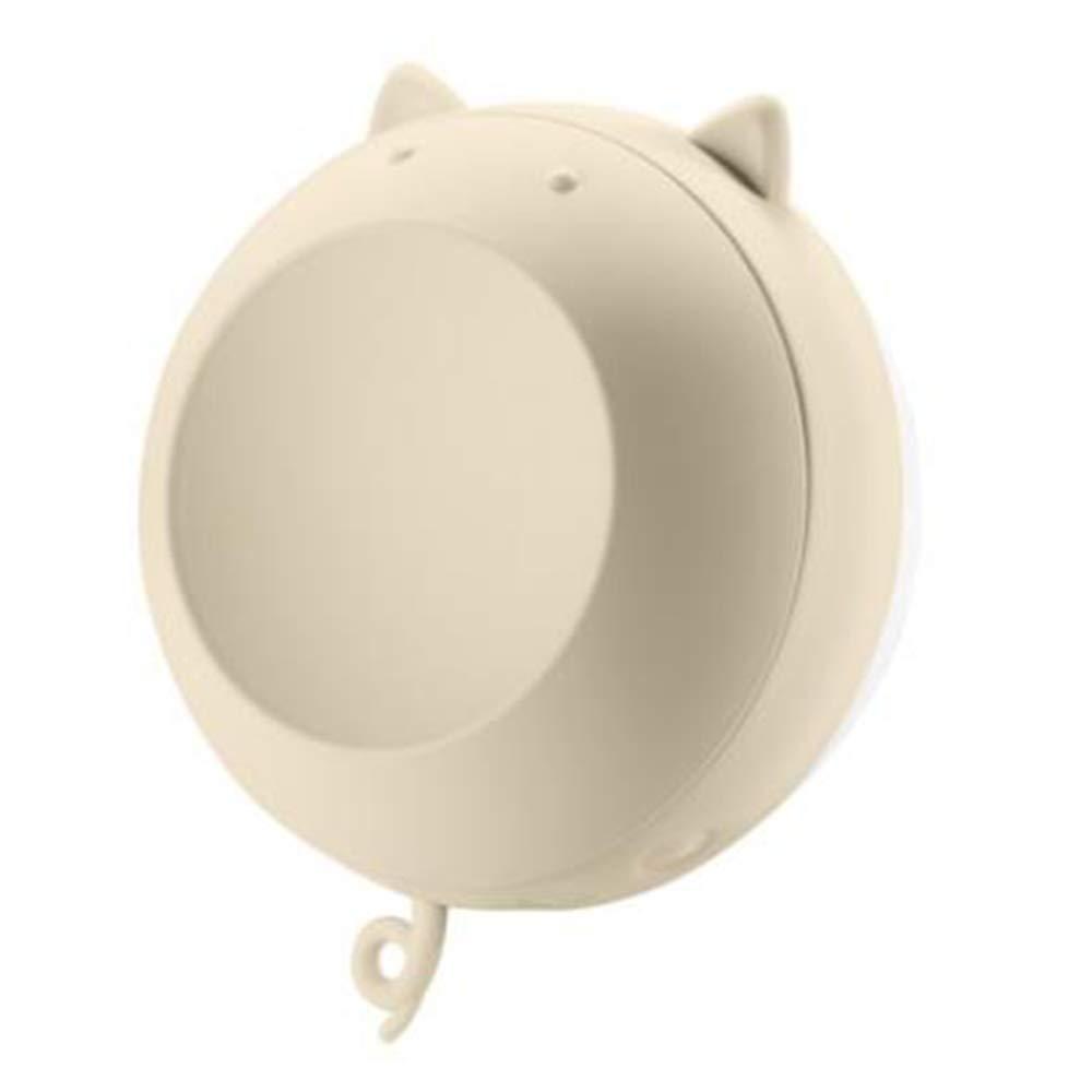 TRELLA Wiederaufladbarer Handwärmer Tragbarer Schminkspiegel Doppelheizgerät Tragbarer Heizkraft-Handwärmer, Mini-USB-Mobilstrom 6000 mAh