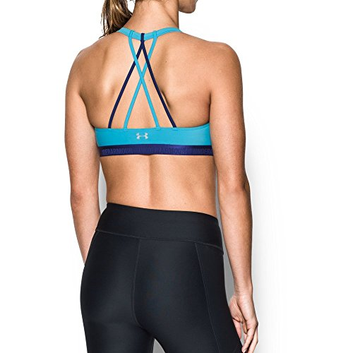Under Armour Women's Armour Strappy, Island Blues/Europa Purple, X-Large