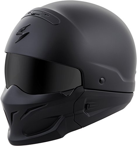 Scorpion EXO Covert Solid Helmet Matte Black (Black, X-Large)