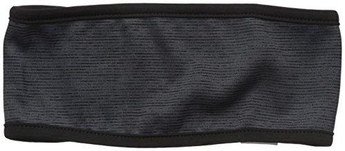 Champion Women's Authentic Headband with Pop Cover Stitch, Black Stripe/Amethyst Glaze, One Size