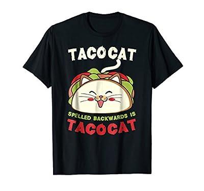 Tacocat Spelled Backwards Is Tacocat Shirt - Taco Cat TShirt