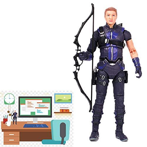 NUTADO Hawkeye Action Figure - Marvel: Avengers Endgame - Hawkeye for Collectible Toy, Gift, Present