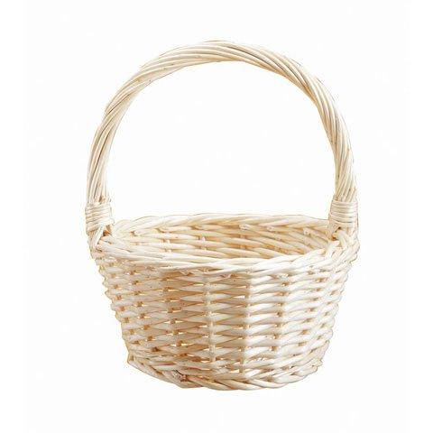 Bulk Buy: Darice DIY Crafts Willow Wood Basket 10 inches (24-Pack) 2815-68