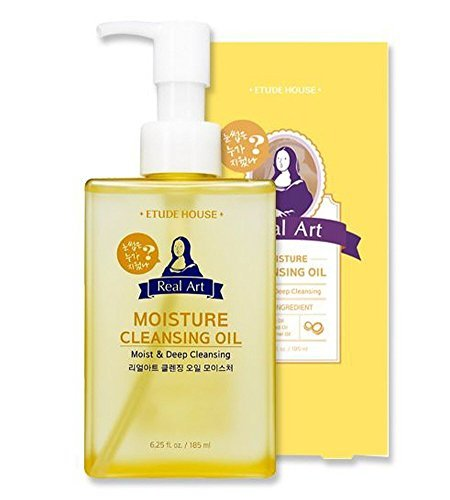 Etude House Real Art Cleansing Oil Moisture Advanced 185 milliliters (Cleanse Oil Off)