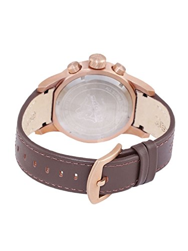 17e2a60c6f Kappa men's watch with a leather strap, date, weekday, GMT KP-1434M ...