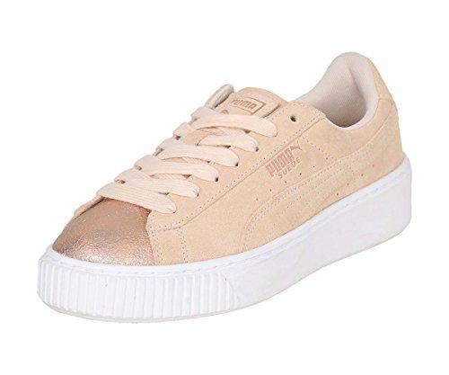 Suede Cream Femme Beige Sneakers Wns Platform Lunalux Puma Basses FqB14dxF