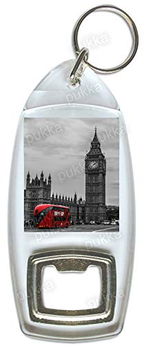 Llavero con abrebotellas de recuerdo de Big Ben/London ...
