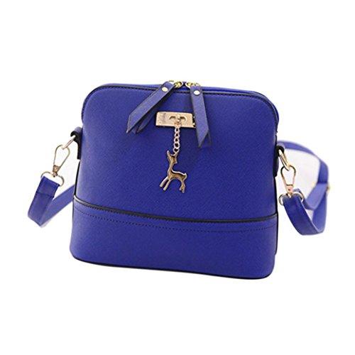 Purses B Small Handbag Shoulder Cross Leather Packs Body Fanny Inkach Bags Blue Vintage Womens Messenger Bag xwaAZAOS