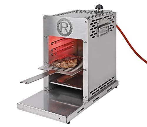 Rothenberger Industrial Roaster – Steakgrill – Hochtemperaturgrill – Oberhitzegrill inkl. Grillrost – Auffangschale…
