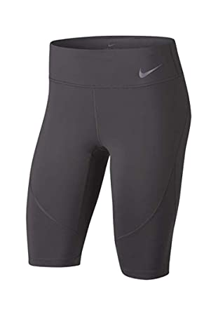14570e52ad3e5 Nike Women's Mid-Rise Running Tights Half Length Power Epic Lux (X-Small