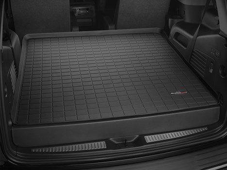 Liner Cargo Tahoe (2015-2016 Chevrolet Tahoe Black Cargo Liner [behind 2nd row seating])