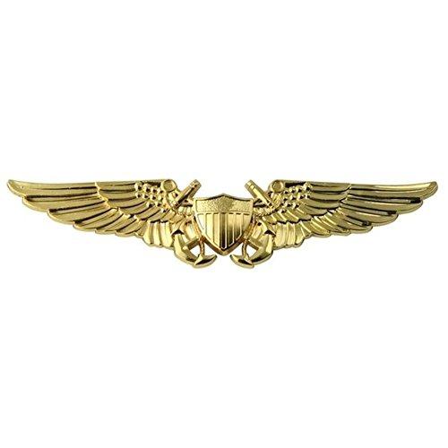 Flight Officer Wings (Naval Flight Officer Gold Metal Auto)