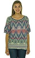 Ralph Lauren Denim & Supply Women's Diamond Print Shirt