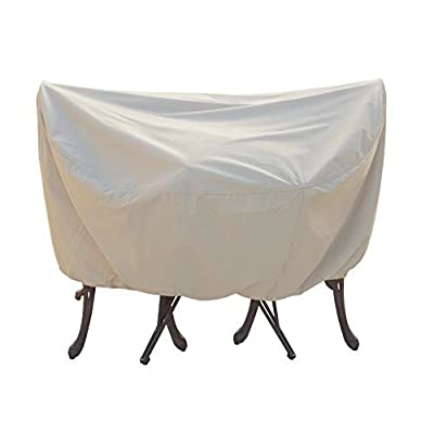 "Treasure Garden Protective Patio Furniture Cover CP531 Fits All 36"" Bistro/Cafe Table and Chairs - NO Umbrella Hole : Garden & Outdoor"