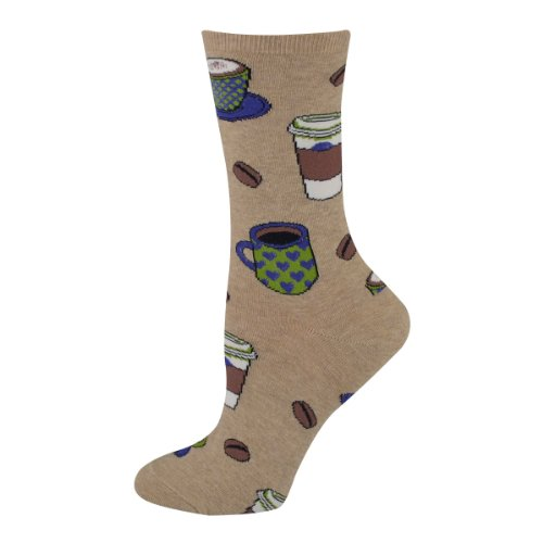 Love You A Latte Womens Crew Socks
