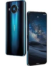 """Nokia 8.3 5G – Quad-camera met ZEISS-lenzen – 6,81"""" scherm – 5G connectiviteit – Android One – Qualcomm Snapdragon – 128GB - Dual-SIM"""