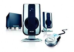 Philips - Altavoces (2.1 canales, Alámbrico, 50 - 20,000 Hz)