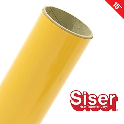 Siser EasyWeed 15 Roll (Yellow, 3ft)